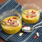 Golden Goji-Chia Pudding